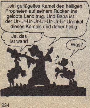 """Lustiges Taschenbuch Nr. 24 """"Donald geht ein Licht auf"""" Seite 234"""